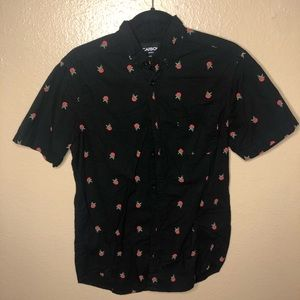 Rose Button Down